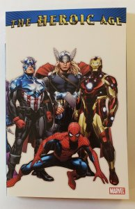 The Heroic Age TPB Soft Cover GN Marvel Comics 2010 First Print NM
