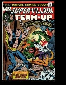 12 Super-Villain Team-Up Marvel Comics #2 3 4 5 6 7 8 9 10 11 12 13 Dr Doom GK15