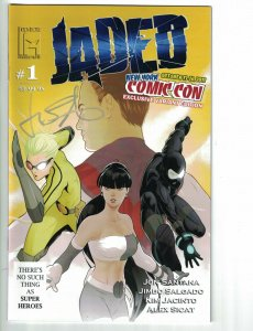 Jaded #1 VF new york comic con exclusive variant edition signed by Jon Santana