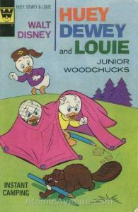 Huey, Dewey, and Louie Junior Woodchucks #36A VG; Gold Key | low grade comic - s