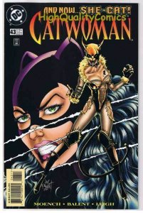 CATWOMAN #43, NM, Jim Balent, She-Cat, Femme Fatale,1993, more in store
