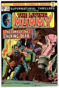 SUPERNATURAL THRILLERS #13 (VF) The Living Mumy! Marvel Bronze Age Horror