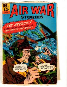 Air War Stories # 8 VG 1966 Dell Silver Age Comic Book Army Navy Marines FH2