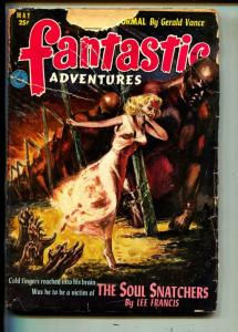 Fantastic Adventures-Pulp-5/1952-Guy Archette-Lee Francis