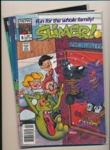 NOW Comics LOT of 3-  SLIMER GHOST BUSTERS  #5,6,8 FINE/VERY FINE (PF628)