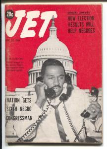 Jet 11/19/1964-John Conyers-African-American culture-Negro Congressman-VG