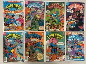 New Adventures of Superboy lot #1-54 all 29 diff books range avg 7.0 (1980-'84)