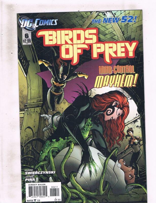 Lot Of 5 Birds Of Prey Dc Comics 6 7 8 9 10 Batgirl Katana Black Canary Lh2 Hipcomic