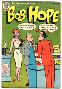 Adventures Of Bob Hope #30 1954-DC Golden Age- Trick cover VG