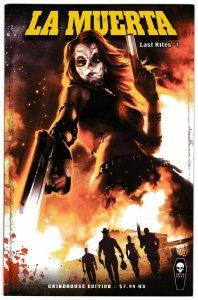 La Muerta Last Rites #1 Grindhouse Edition (Coffin, 2016) NM