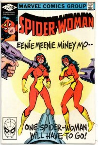 SPIDER-WOMAN #25 VF/NM, Free a Felon, 1978 1980 Marvel Bronze age