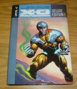 X-O Manowar Deluxe Edition HC 1 VF/NM valiant comics hardcover collects 1-14