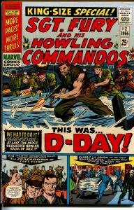 Sgt. Fury and His Howling Commandos #2 1966-D-Day issue-Marvel-NM-