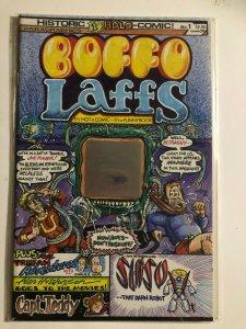 BOFFO LAFFS #1 PARAGRAPHICS / 1'ST HOLOGRAM COMIC / VF+/- / UNREAD