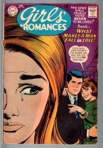 GIRLS' ROMANCES #129-D.C. ROMANCE-SILVER AGE-G/VG G/VG