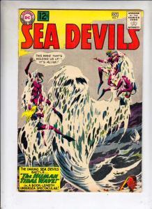 Sea Devils #7 (Oct-62) FN/VF+ Mid-High-Grade Sea Devils (Dane Dorrence, Biff ...