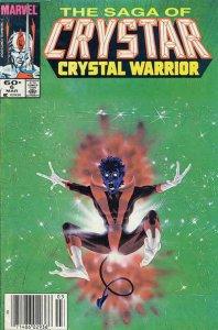 Saga of Crystar, the Crystal Warrior #6 (Newsstand) VG; Marvel | low grade comic