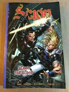 Scion Traveler Ser.: Blood for Blood by Ron Marz (2003, Trade Paperback)