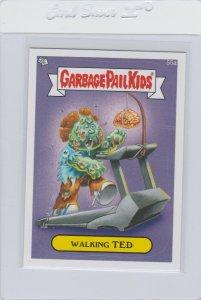 Garbage Pail Kids Walking Ted 55a GPK 2014 Series 1 trading card sticker