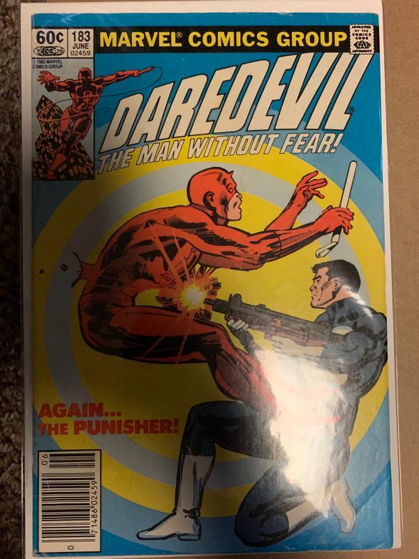 Daredevil (1964) 183 Fine+  (6.5) Punisher