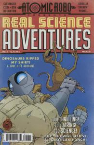 Atomic Robo Presents Real Science Adventures #1 VF/NM; Red 5 | save on shipping