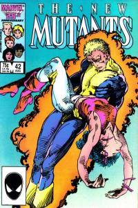 New Mutants (1983 series) #42, NM- (Stock photo)