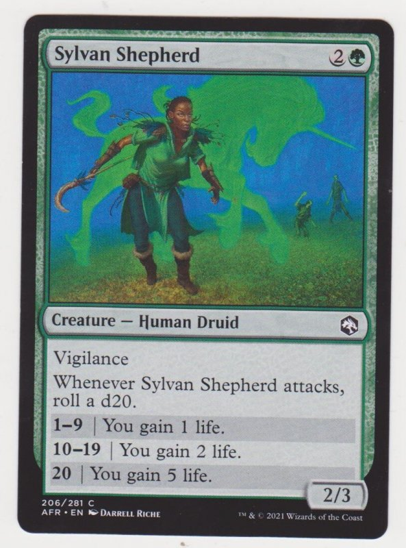 Magic the Gathering: Adventures in the Forgotten Realms- Sylvan Shepherd