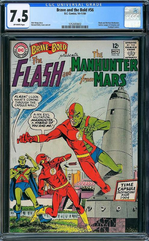 Brave and the Bold #56 (DC, 1964) CGC 7.5