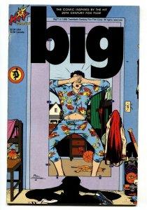 Big #1 Hit Comics 1989 comic book Tom Hanks