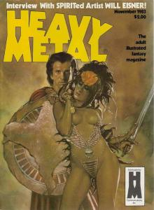 Heavy Metal #81 VF/NM; Metal Mammoth   save on shipping - details inside