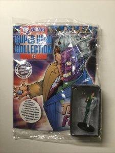 Super Hero Collection 12 Two-Face Lead Figure 2008 Eaglemoss DC Comics