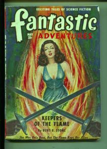 Fantastic Adventures-Pulp-5/1949-Burt B. Stone-Alexander Blade