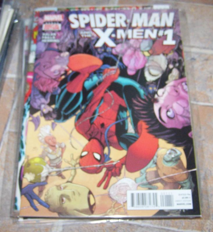 SPIDER-MAN AND THE X-MEN #1  JEAN GRAYS ACADEMY MUTANTS