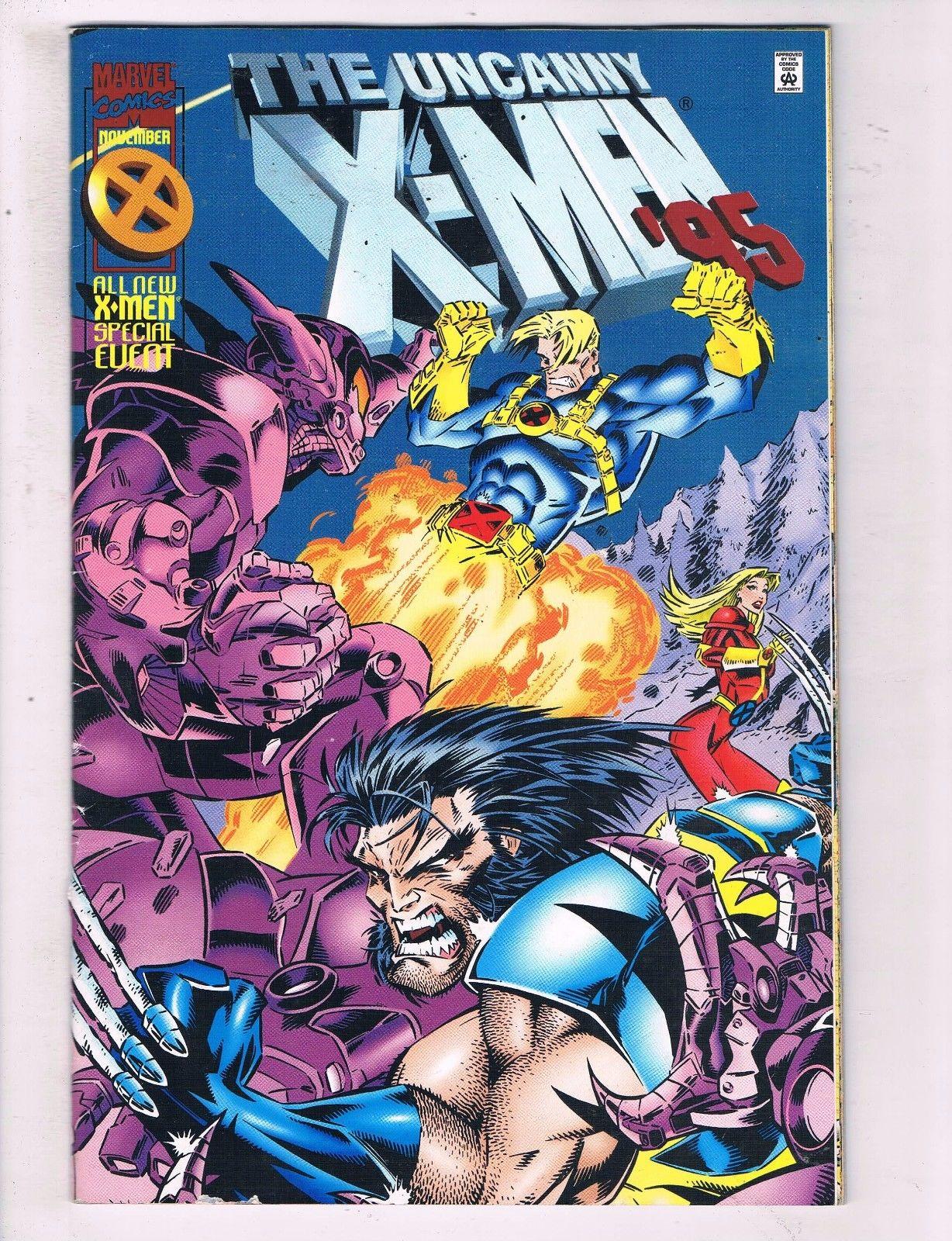 The Uncanny X Men 1 Vf Marvel Comics All New X Men Comic Book Storm 1995 De9 Hipcomic