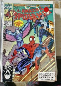 Amazing Spider-Man  #353- punisher darkhawk round robin pt 1