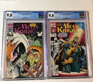 Marc Spector Moon Knight 32 33 Cgc 9.8 White Pages 1st Demogoblin