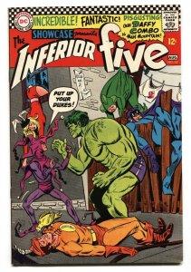 SHOWCASE #63-INFERIOR FIVE-Hulk parody-1966-DC VF-