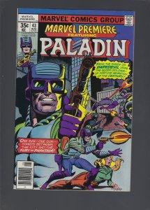 Marvel Premiere #43 (1978)