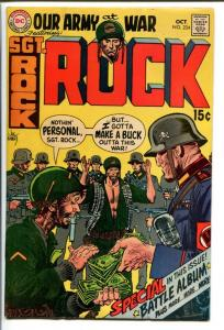 OUR ARMY AT WAR #224-SGT. ROCK-COOL ISSUE! FN