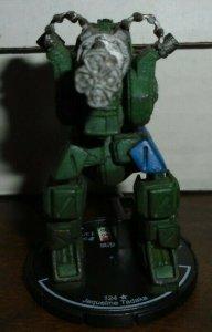 Jaqueline Tadaka Legionnaire 111 Mechwarrior DAMAGED NO DOSSIER