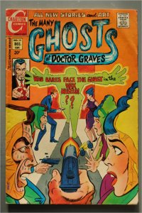 Many Ghosts of Doctor Graves  #29    VG/Better