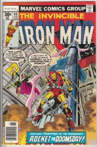 Iron Man #99 (Jun-77) NM Super-High-Grade Iron Man