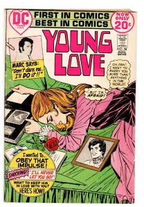 YOUNG LOVE #98 COMIC BOOK-GREAT ISSUE-DC ROMANCE-OBEY THAT IMPULSE
