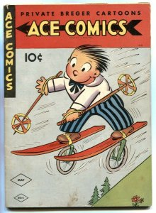 Ace Comics #74 1943- Phantom- Jungle Jim FN