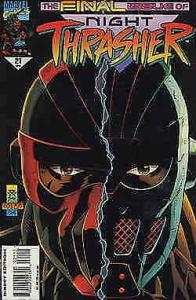 Night Thrasher #21 VF/NM; Marvel | save on shipping - details inside