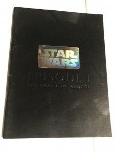 Star Wars Episode 1 Phantom Menace Japanese Film Book Vg Very Good