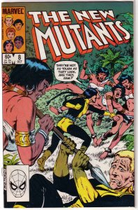 New Mutants (vol. 1, 1983) #  8 VF/NM Claremont, Sal Buscema, McLeod