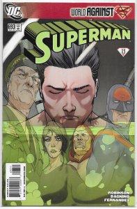 Superman (vol. 1, 2006) #693 VF (New Krypton red 13: World Against) Mon-El