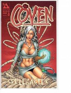 The Coven Spellcaster (1999) #1/2 Avatar RARE NM- (9.2)
