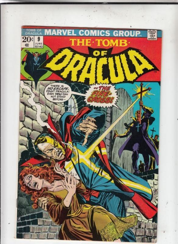 Tomb of Dracula 9 strict VF/NM 9.0 High-Grade  Tons of Drac just up Kermitspad